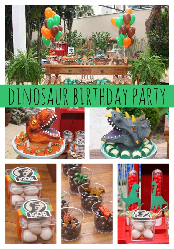 Jurassic Park Themed Party - Pretty My Party