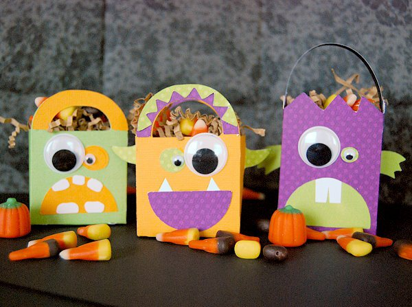 Monster Birthday Party Treat Bags