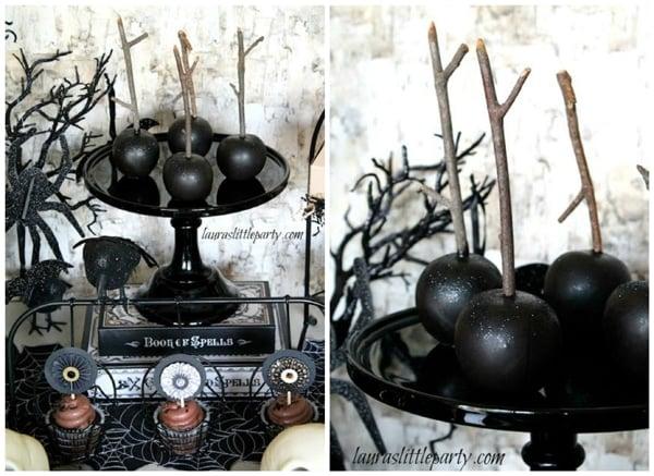 halloween-black-apples