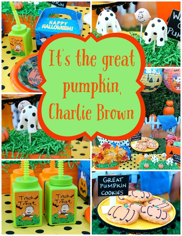 its-the-great-pumpkin-charlie-brown-party-ideas