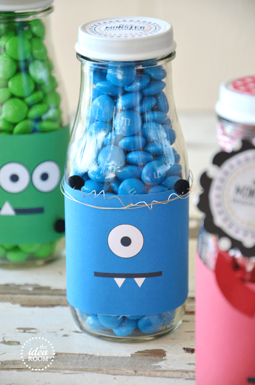 Monster Munchies Candy Favor Idea - Monster Theme Party