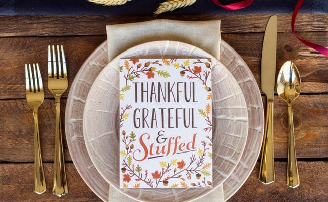 25 Creative Thanksgiving Place Setting Ideas