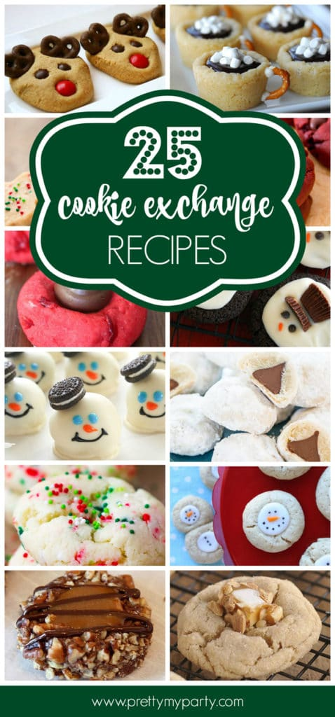 25 Best Christmas Cookie Exchange Recipes Pretty My Party Party