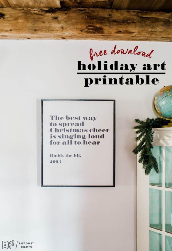 Free-Christmas-Printable-Holiday-Printables
