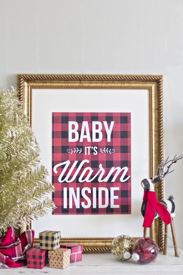 Free-printable-buffalo-check-baby-its-warm-inside