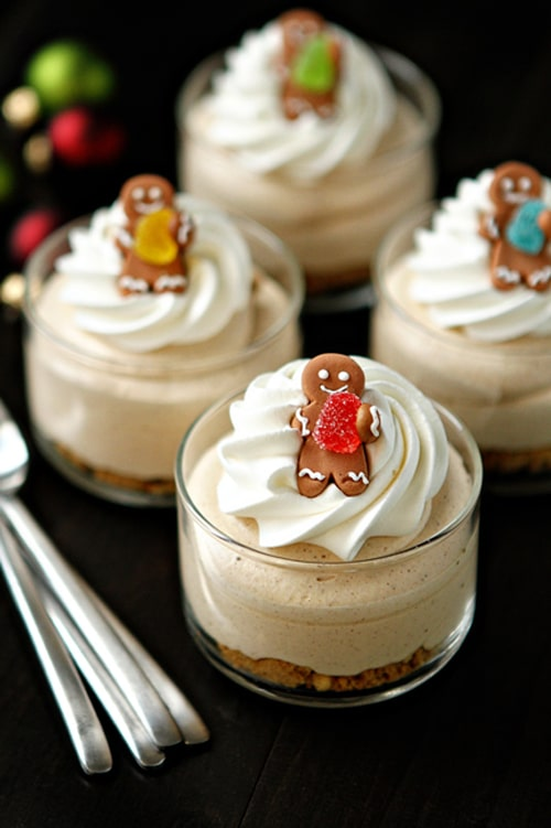 Gingerbread-Cheesecakes