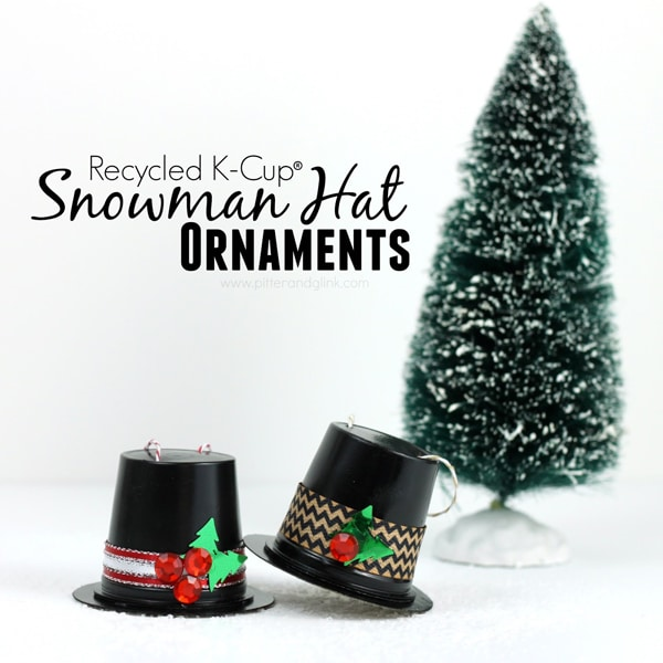 KCup-Snowman-Hat-Ornaments