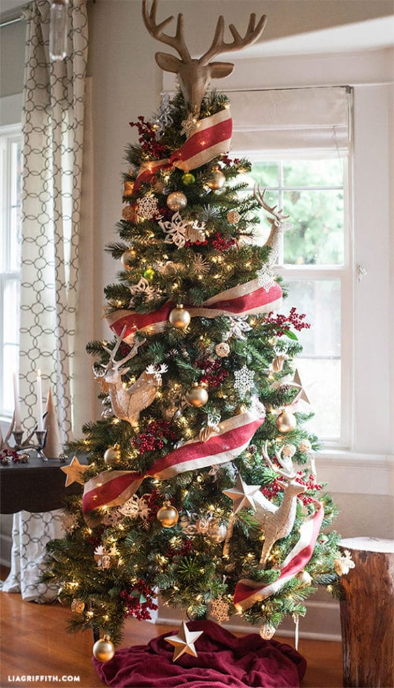 15 amazing christmas tree ideas pretty my party Christmas tree ornaments ideas