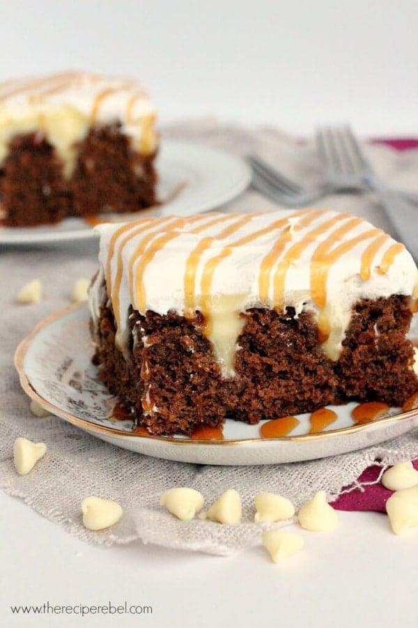 White-Chocolate-Gingerbread-Poke-Cake