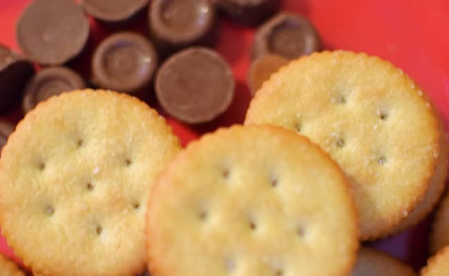 Easy Candy Stuffed Ritz Recipe