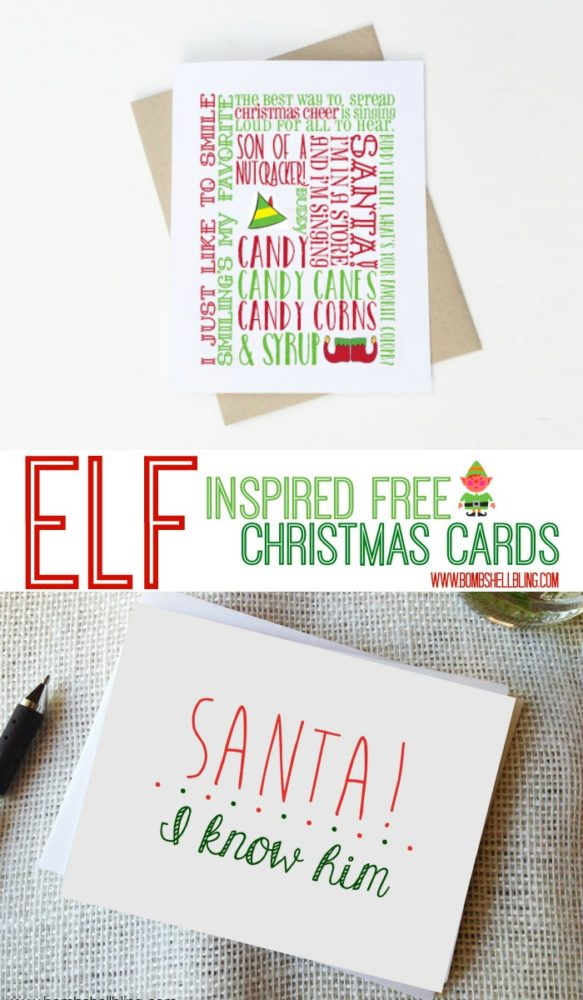 ELF-Inspired-free-Christmas-Cards