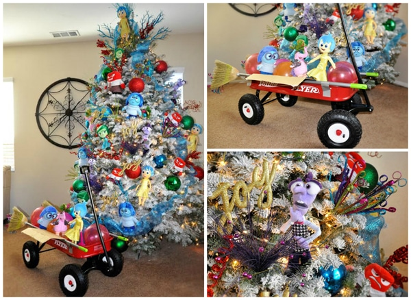 disney inside out theme tree - Themed Christmas Trees