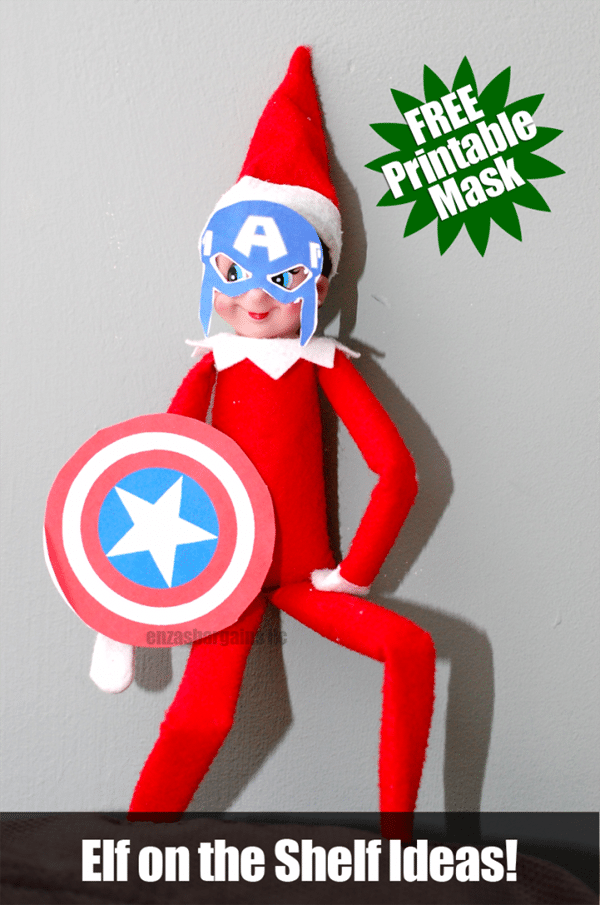 picture about Elf on the Shelf Printable Props named 15 Free of charge Elf upon the Shelf Printables - Quite My Occasion