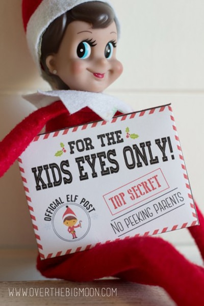 Free Elf on the Shelf Printable Missions For Kids