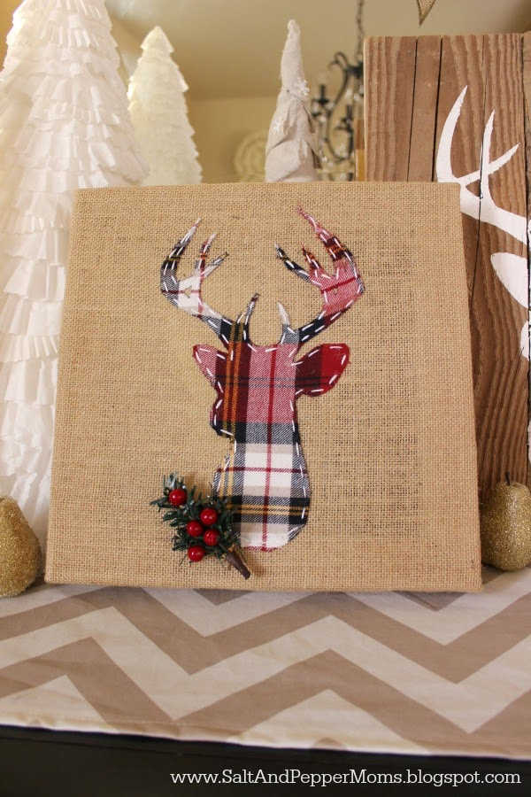 Lighted Christmas Deer