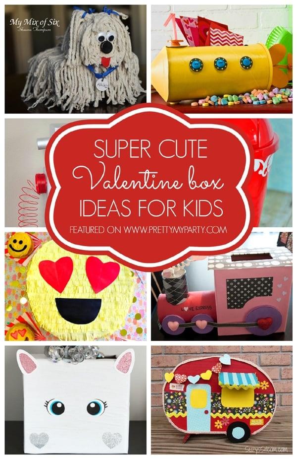 29 Adorable DIY Valentine Box Ideas - Pretty My Party