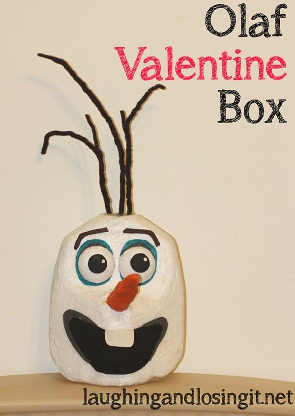 Disney Frozen Olaf Valentine Box