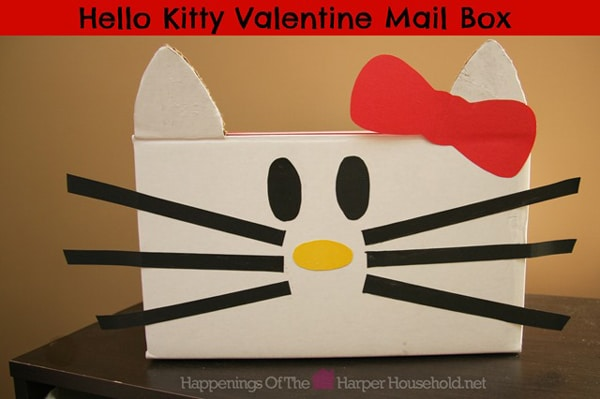 Hello Kitty Valentine Mailbox