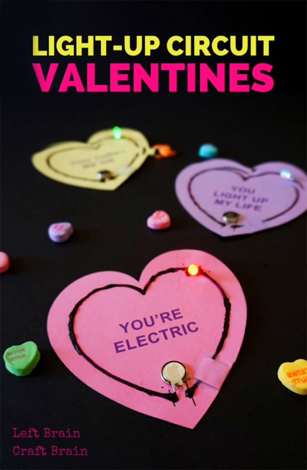 Light-Up-Valentine-Circuits