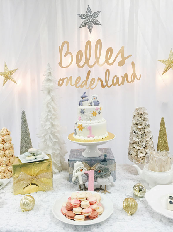 Winter One Derland Birthday Celebration Pretty My Party