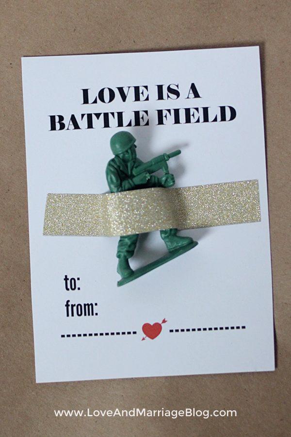 army-valentine-printable