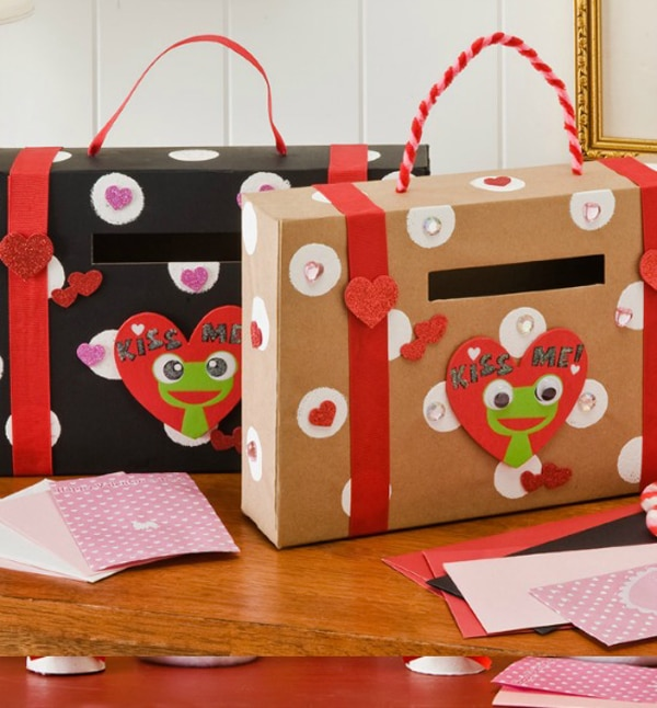 29 Adorable DIY Valentine Box Ideas Pretty My Party – Valentines Card Boxes