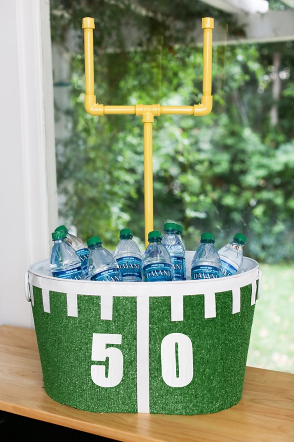 diy-football-party-beverage-tub