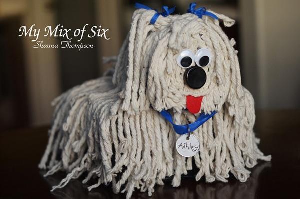 puppy dog valentine card box