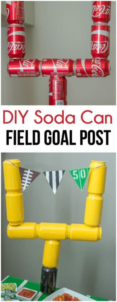 diy-soda-can-field-goal-post