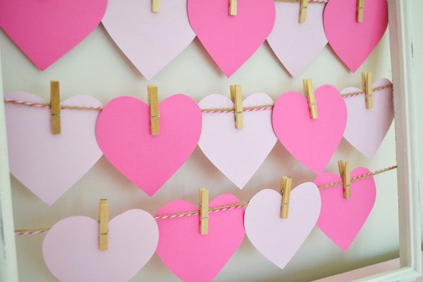 DIY Valentine's Day Countdown - Pretty My Party