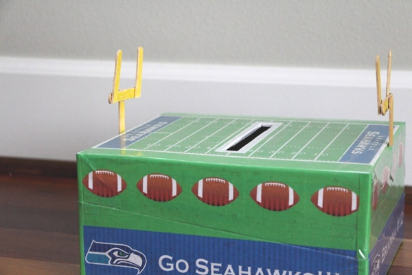 football stadium valentine box - Valentines Day Boxes For Boys