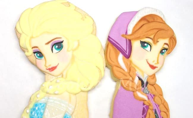 15 Amazing Disney Frozen Cookies