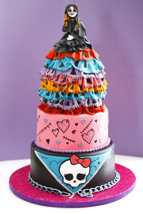 monster high birthday cake 10 cool high cakes pretty my 6004