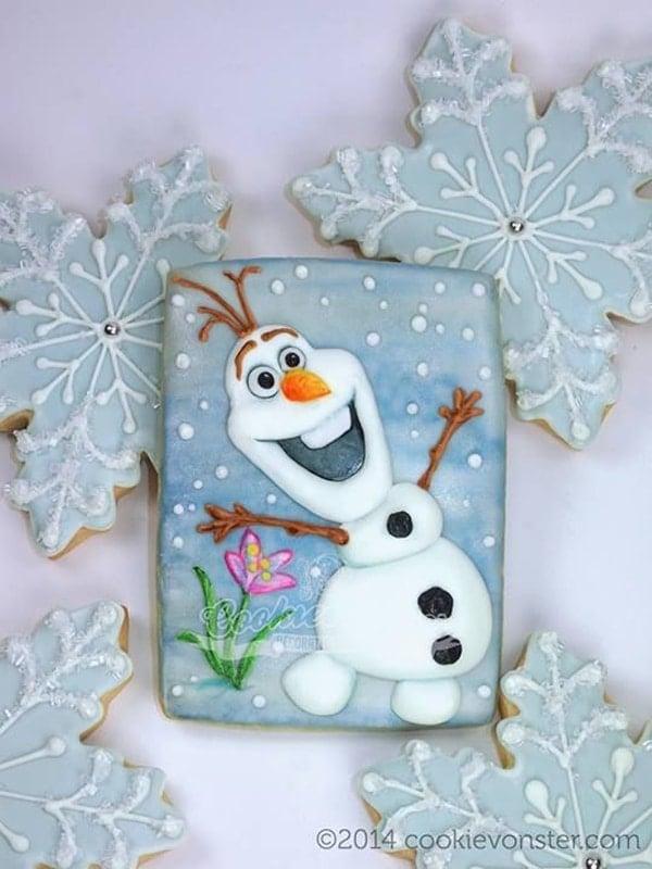 15 Amazing Disney Frozen Cookies Pretty My Party