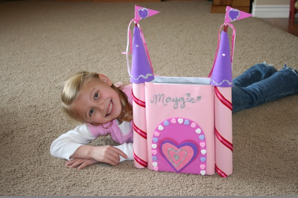 princess castle valentine box - Soccer Valentine Box
