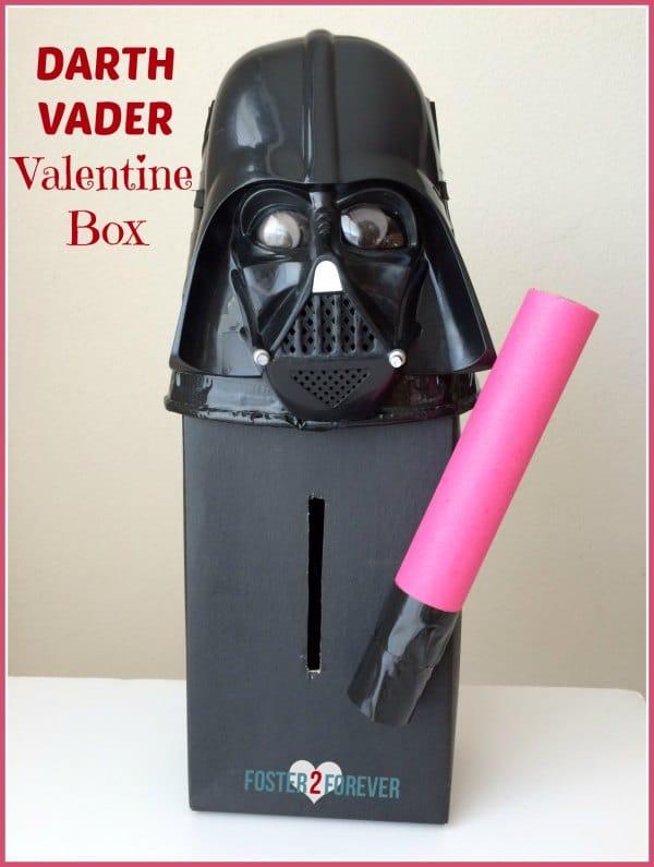 Star Wars Darth Vader Valentine Box