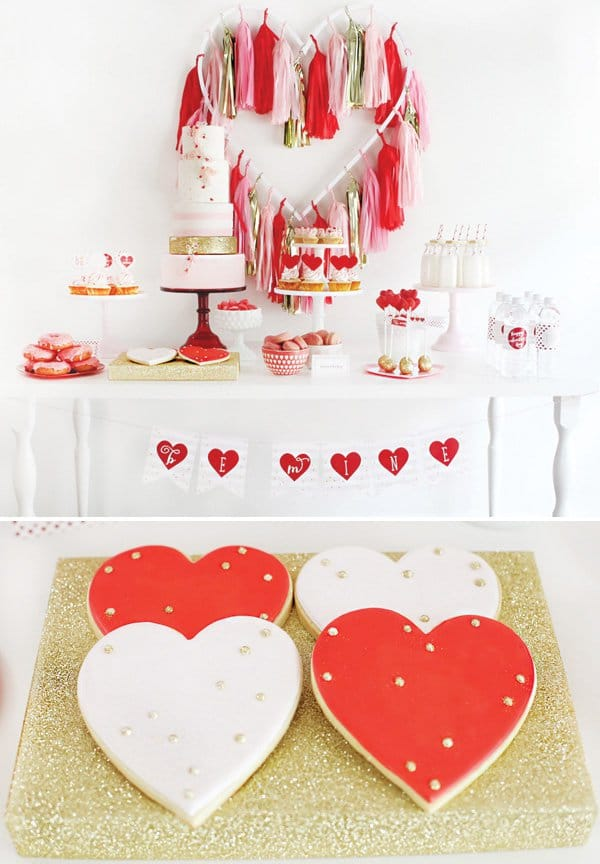valentines-day-dessert-table