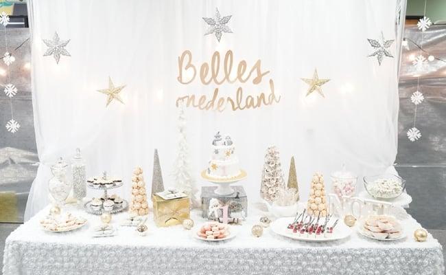 Winter One-derland Birthday Celebration