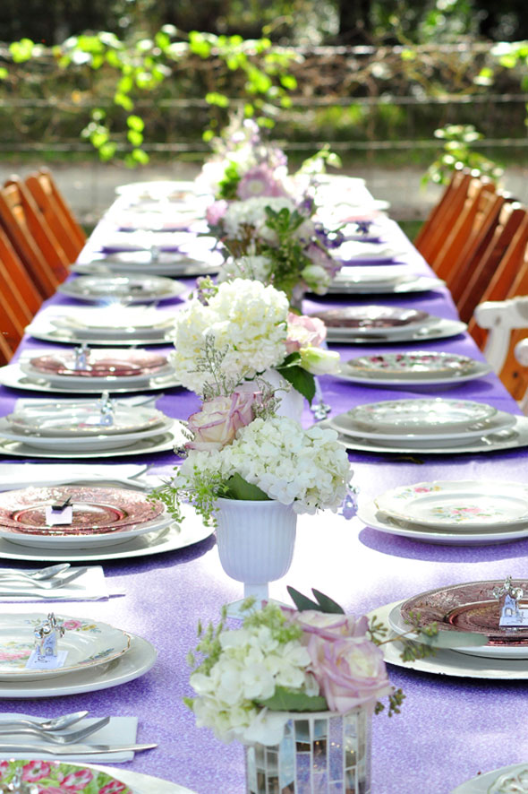 The party planner also happens to own a vintage rental company, Tufted ...