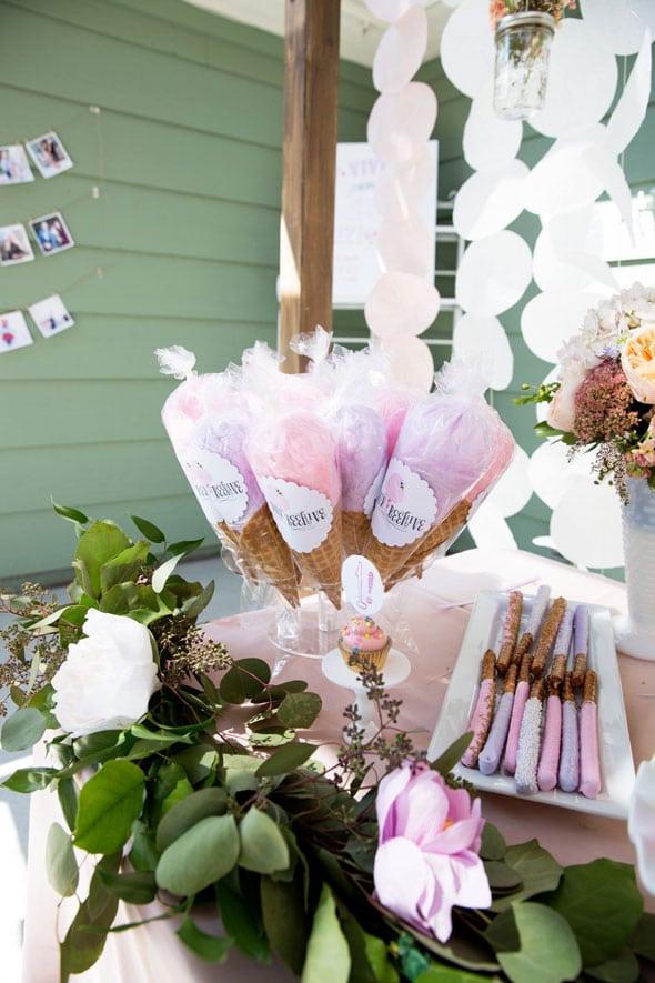 Garden Party Birthday Treats Desserts