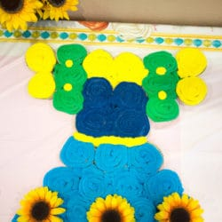 frozen-summertime-party-cupcake-cake
