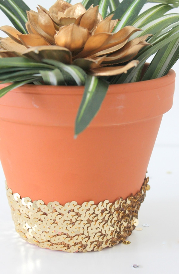 DIY-Sequin-Planter- 6