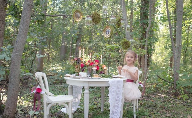 Enchanted Forest Birthday Party Pretty My Party