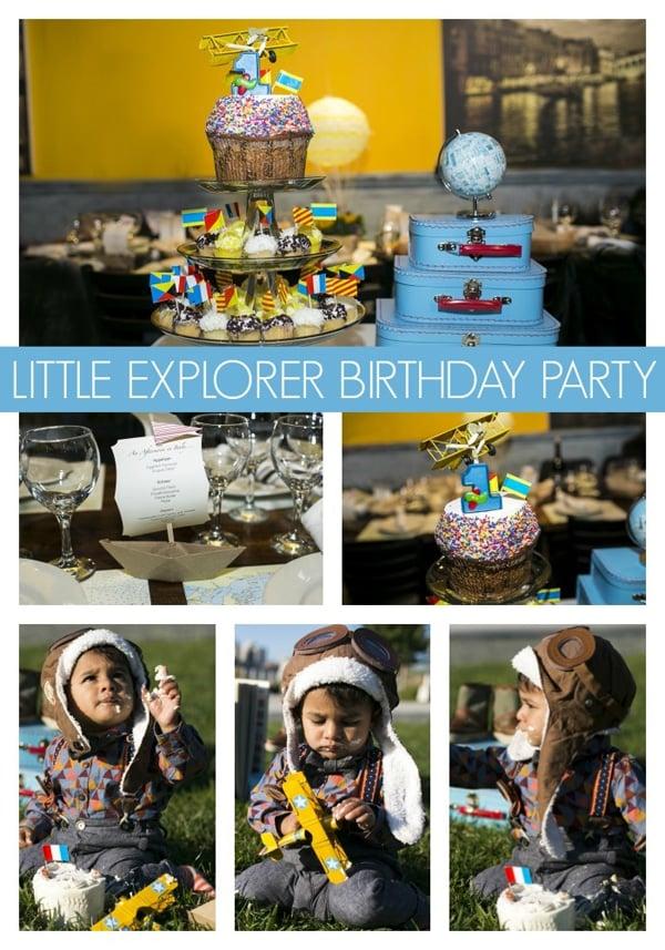 Little Explorer Birthday Party