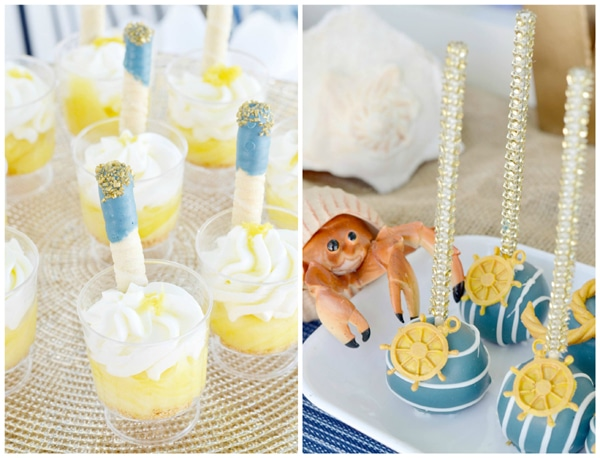 Nautical First Birthday Party Pretty My Party