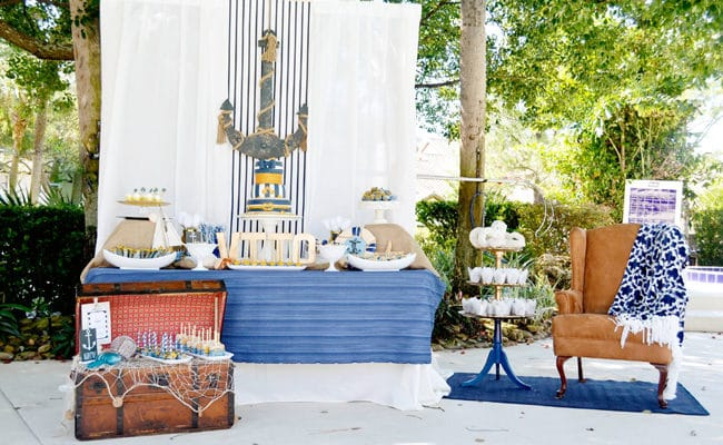 Nautical First Birthday Party