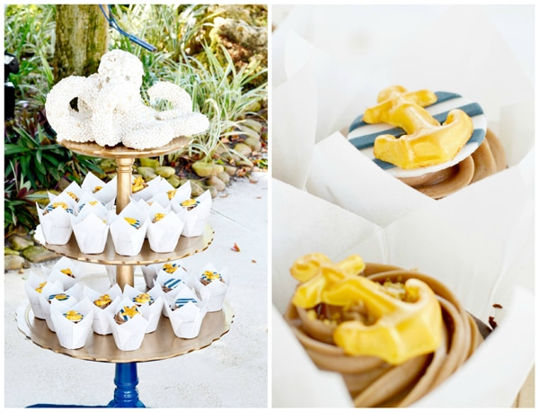 nautical-first-birthday-party-cupcakes
