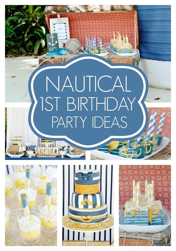 nautical-first-birthday-party-ideas
