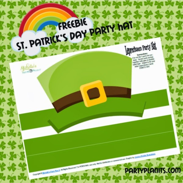 free-st-paddys-hat-printable