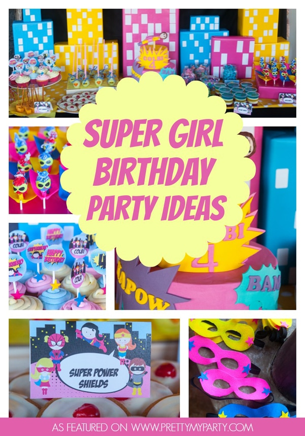 super-girl-party-ideas